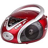 Trevi 054202 Radio portable Rouge, Blanc