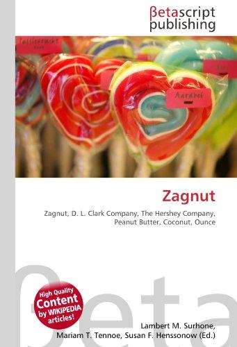 Zagnut: Zagnut, D. L. Clark Company, The Hershey Company, Peanut Butter, Coconut, Ounce