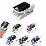 DOBO® Saturimetro ossimetro da dito ossigeno sangue misuratore display impulso...