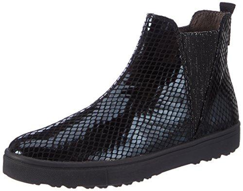 Tamaris Damen 25441 Chelsea Boots, Schwarz (Black Struct.), 36 EU