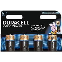 Duracell Ultra Power Piles Alcalines type C, Lot de 4