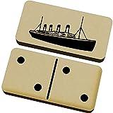 Azeeda 'Titanic' Domino-Spiel und Box (DM00015976)