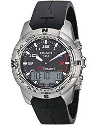 Tissot T-TOUCH T0474204720700 - Reloj de caballero automático, correa de acero inoxidable color varios colores