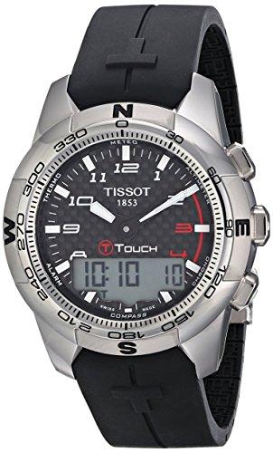 tissot-hommes-t0474204720700-t-touch-ii-black-montre-numrique-multifonction