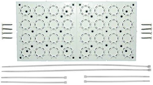 Für Rv Tv-halterungen (aus den Augen Klammern Universal, verstellbare Halterung Kit Mit Kabel Organizer für Flat Panel TV, unter Schreibtisch Draht, Management, Verstecken Bindekordeln & More 2er Pack (2))