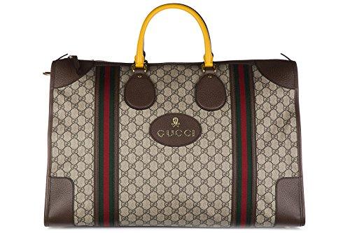 Gucci-travel-duffle-weekend-shoulder-bag-soft-GG-supreme-beige