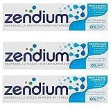 Zendium Dentifricio Protezione Completa, 75ml - Confezione da 3