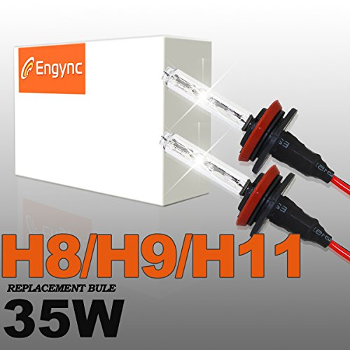 Preisvergleich Produktbild Engync 2x 35W HID Xenon Licht Ersatzlampe Scheinwerfer -H11-5000K-3 Jahre Garantie