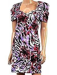 Womens Short Cap Sleeved Dress sweetheart bust size 6-12