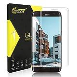 CRXOOX Panzerglasfolie für Samsung Galaxy S7 Edge Panzerglas Schutzfolie HD Klar Anti-Kratzen, Anti-Fingerabdruck Blasenfrei Einfache Installation Bildschirmschutzfolie Folie für Samsung S7 Edge