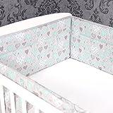 Bettumrandung Nestchen Kopfschutz 360x30 cm Bettnestchen Baby Design 7 NEU