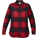 Fjällräven Canada Shirt LS Women - red