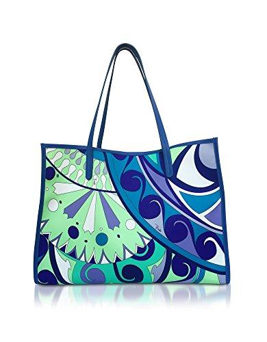 Emilio Pucci Damen 81Bc5981260040 Hellblau Polyester Tote (Damen Pucci Handtaschen Emilio)