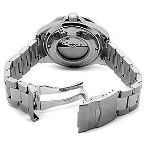 Reloj Invicta 3045 de caballero automático con correa de acero inoxidable plateada de Invicta