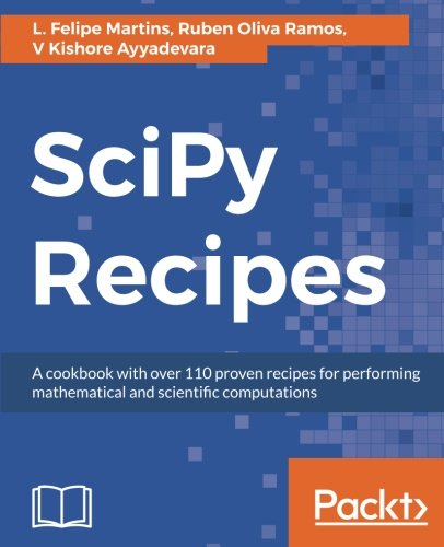 SciPy Recipes por L. Felipe Martins