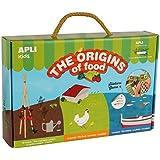 Apli Kids–14530los orígenes de alimentos pegatinas de juguete