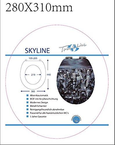 TrendLine WC-Sitz Skyline