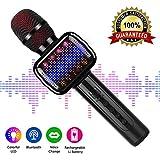 Karaoke Microphone, Wireless Bluetooth Karaoke Microphone For Kids Portable Handheld Karaoke Machine With Speaker For Home Party KTV Outdoor.