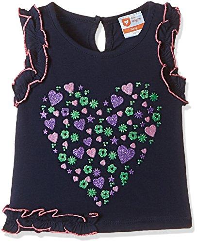 612 League Baby Girls' T-Shirt (ILS17I78016-6 - 12 Months-BLUE)