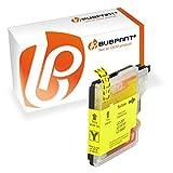 Bubprint Druckerpatrone kompatibel für Brother LC 985 Y LC985 LC-985 985Y für DCP J125 J 125 140W J140W 315 W J315 J515W MFC J220 220 J265W J415W Gelb