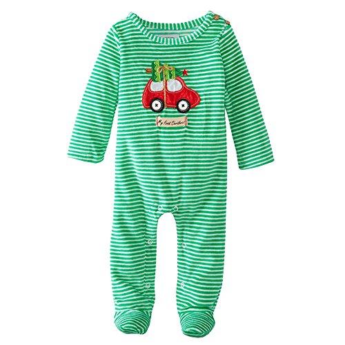 Batedan - Pagliaccetto - Bebè femminuccia, Green, 6-9 Mesi