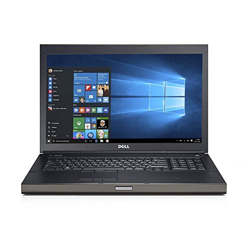 Dell Precision M6800 17.3-inch Business Laptop Intel Core i7-4930MX 3.0 GHz / 3.9 GHz Turbo Quad Core Processor, 16GB RAM, 500GB HDD, Full HD Display (1920 x 1080 Resolution), NVIDIA Quadro K4100M 4GB Dedicated Graphics, Windows 10 Pro - C27HTZ1