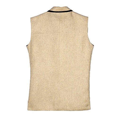 BIS Creations Men's Cotton Blend Solid Jacket_XL