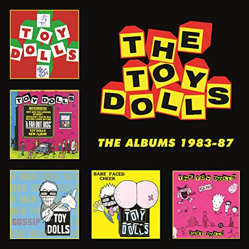 The Toy Dolls - The Albums 1983-87