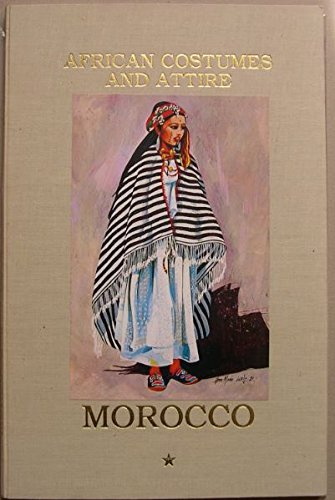 African costumes and attire Morocco - High Atlas and south - Maroc