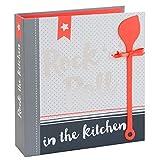 Rezept Ordner A5 MY FAVOURITE RECIPES Register 40 Rezeptkarten Sammlung Geschenk