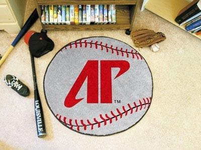 Fanmats 00298 Austin Peay State University Baseball Rug Austin Baseball