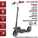 Elektroscooter AIRWHEEL Z5. Akku 162.8Wh. Motorleistung 350W