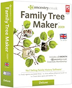 Family Tree Maker 2009 Deluxe (PC CD)
