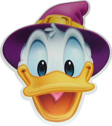 Halloween Disneys Donald Duck Zauberkostümmasken aus steifer Karte - Offizielles Produkt von Disney (Halloween Donald Duck)