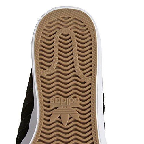 adidas Herren Matchcourt CF Skateboardschuhe, Schwarz Schwarz (Negbas / Negbas / Ftwbla)