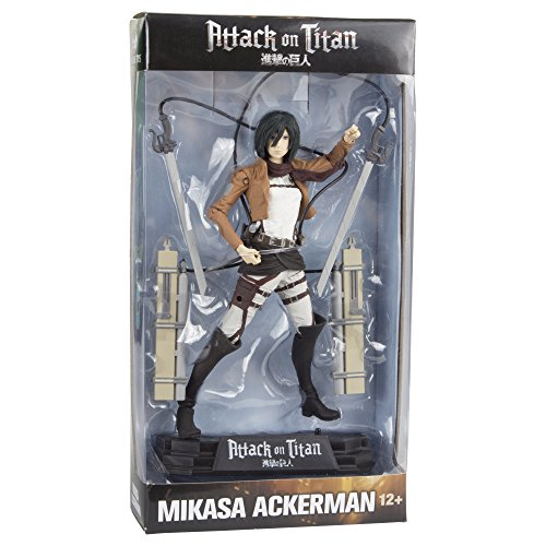 Image of Mikasa Ackerman (Attack on Titan) Colour Tops McFarlane Action Figure