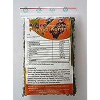 50 Gramm Getrocknete Papaya Kerne