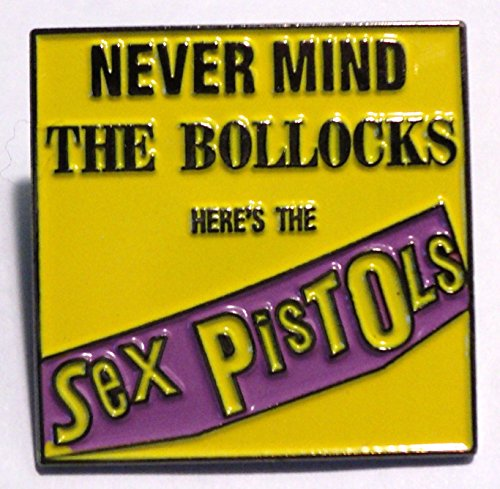 Sex Pistols Never Mind The Bollocks Punk Rock Musica Spilla in metallo smaltato