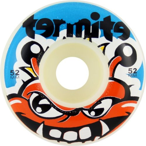 termite-tommy-52mm-white-w-blue-skateboard-wheels-set-of-4