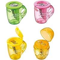 oyfel sacapuntas taza de té Kawaii Mignon rosa de plástico para niños niño niña ...