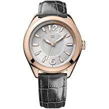 Tommy Hilfiger Damen-Armbanduhr Casual Sport Analog Quarz Leder 1781365