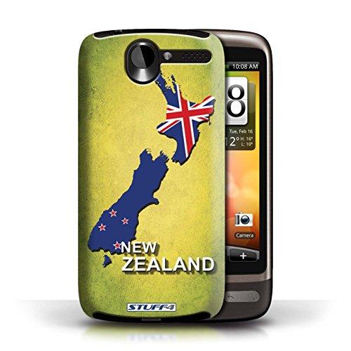 Kobalt® Imprimé Etui / Coque pour HTC Desire G7 / Argentine conception / Série Drapeau Pays nouvelle Zélande