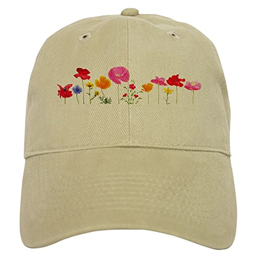 cafepress-wild-meadow-flowers-baseball-cap-with-adjustable-closure-unique-printed-baseball-hat