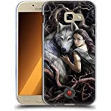 Official Anne Stokes Soul Bond Wolves 2 Soft Gel Case for Samsung Galaxy A5 (2017)
