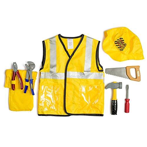 Dress Up America Kinder Bauarbeiter Rollenspiel Dress Up Set Alter 3-7