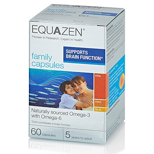 Equazen Omega 3 & 6 Eye Q 60 Capsules