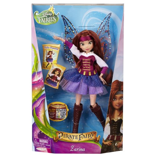 Disney Fairies JK68865 - Zarina - Deluxe Fashion Dolls