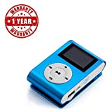 #8: Supreno True Sound Mini Clip Metal Mp3 Player With LCD Screen + Micro / TF Slot and FM Support Freat for Sports, Gymming and Jogging Compatible With Xiaomi Mi, Apple iPhone & iPad, Samsung, Sony, Lenovo, Oppo, Vivo and All Smartphones (1 Year Warranty, Assorted Colour)