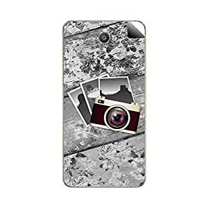 Skintice Designer Mobile Back Skin Sticker for Oppo Joy 3
