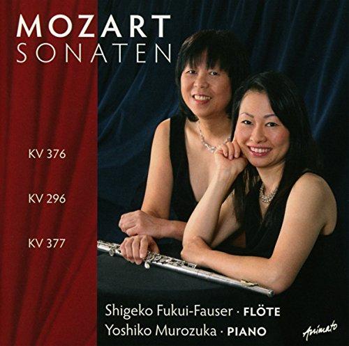 Mozart Sonaten KV 376,296 & 377